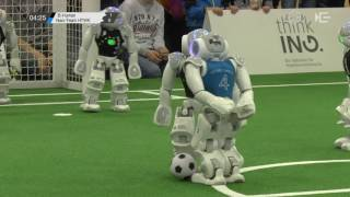 SPL: B-Human – Nao-Team HTWK (Final) [RoboCup German Open 2017]