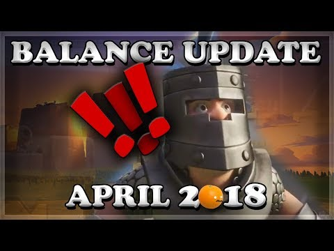 Balance Update April 24 (4/24) | Dark Prince Nerf | Clash Royale 🍊