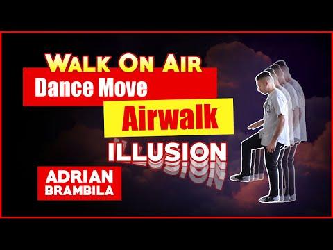 Walk On Air Dance Move | Airwalk Illusion Tutorial 'Invisible Step Jump'