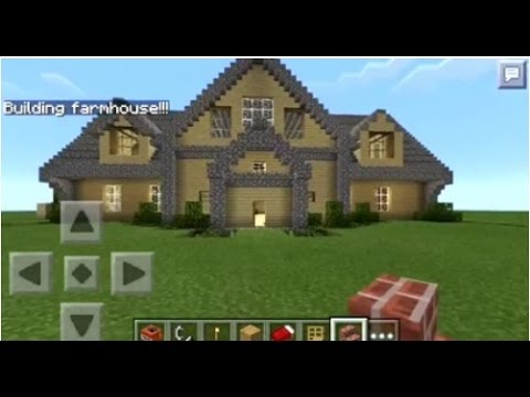 Minecraft PE How to Spawn Houses YouTube