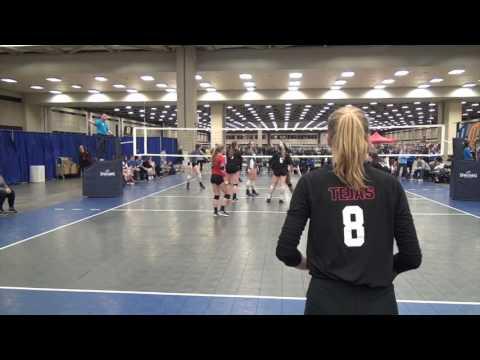 AVC Dallas Open Qualifier- Tejas vs Skyline Houston 2-19-2017
