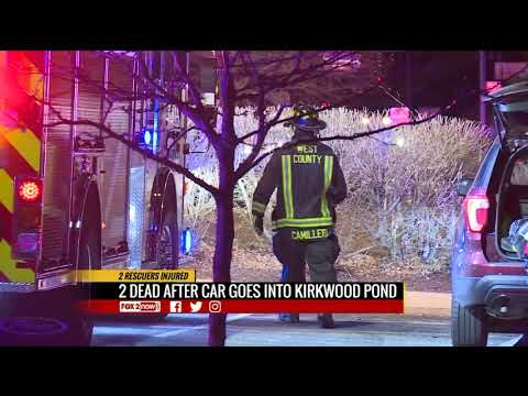 Two dead after car goes into Kirkwood lake