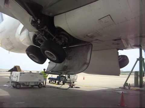 Extensión y Retracción de trenes Airbus A330 AirFrance