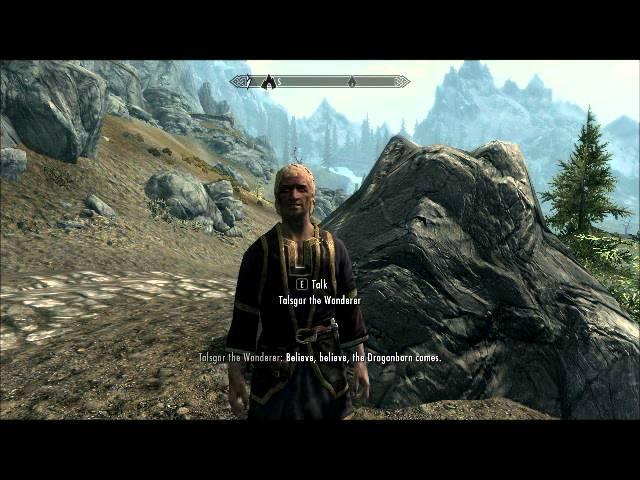 The Elder Scrolls V Skyrim Talgsar The wanderer sings Age of