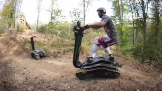 All-Terrain DTV Shredder Experience in Cheshire with Red Letter Days