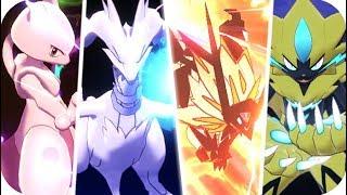 Pokémon Sword & Shield : All Legendary Signature Moves (1080p60)