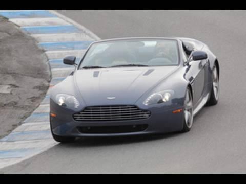 2010 Aston Martin V8 Vantage Roadster Comparison Test Youtube
