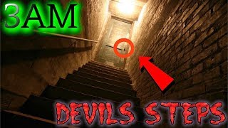 (GONE WRONG) PLAYING THE DEVILS STEPS GAME AT 3AM CHALLENGE (Demon Attacks me)