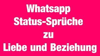 Whatsapp beziehung sprüche An beziehung