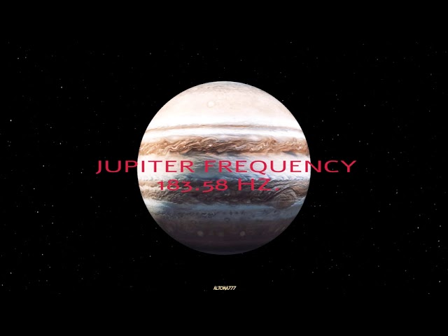 Jupiter Frequency | 183.58 Hz | Attract Luck | Growth | Wealth | Prosperity | Money | Miracles