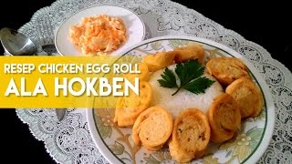 How to make egg roll