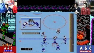 Leafs vs Capitals NHL 97 with DTysonator & Gar