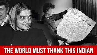 Not For Women Only | How This Indian's Small Change Transformed UN's Declaration of Human Rights