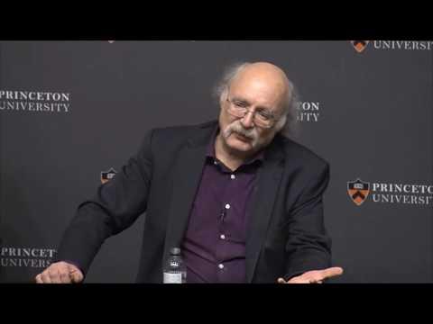 Princeton news conference for F. Duncan Haldane, winner of the 2016 Nobel Prize in Physics