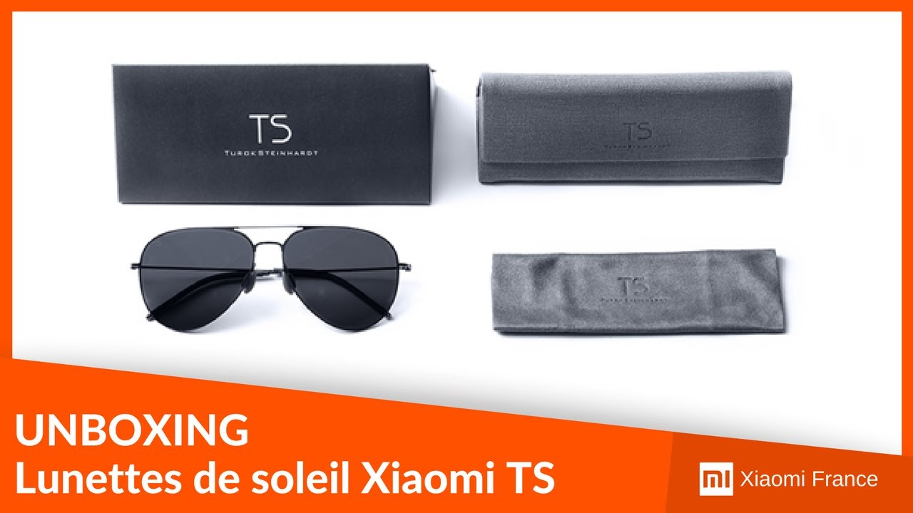 e17a1a0f06a Unboxing - Lunettes de soleil Xiaomi TS (Turok Steinhardt) - YouTube