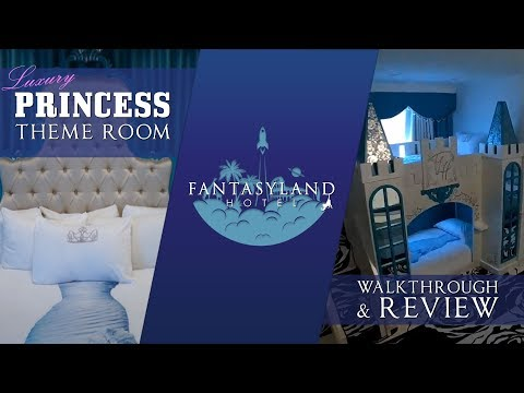 Luxury Princess Theme Room At The Fantasyland Hotel, West Edmonton Mall -  Best Edmonton Mall
