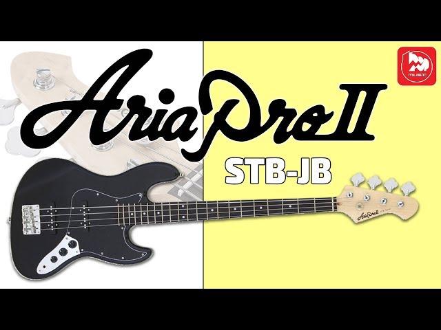 ARIA STB-JB/B Лучший доступный Jazz Bass