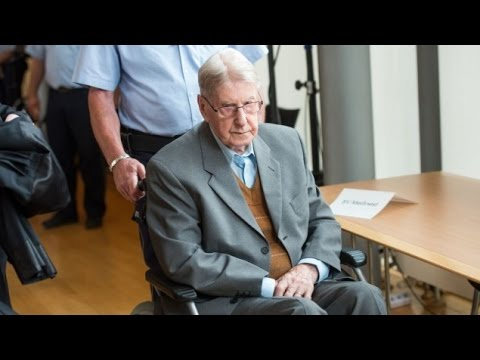 94 year old Ex Nazi Guard Gets 5 yrs Jail for Auschwitz Murders