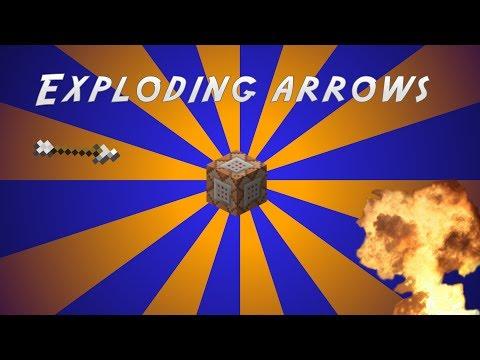 minecraft how to make explosdiing arrows