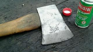 mann single bit axe