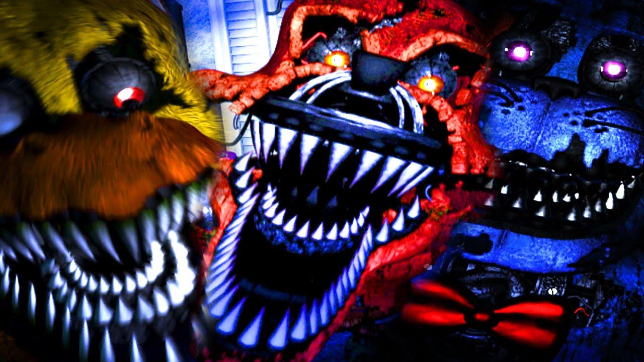 Gioco Piu Horror Della Vita Five Nights At Freddys 4 Ita Ep1
