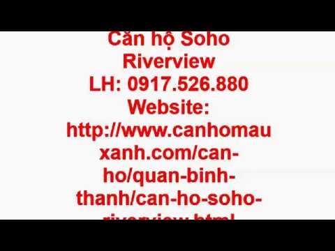 CĂN HỘ SOHO RIVERVIEW BÌNH THẠNH CHỦ ĐẦU TƯ