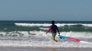 252 만리포 서핑영상 9월 18일 앞발 뻗기