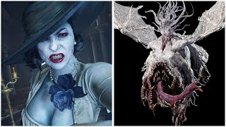 Lady Dimitrescu Vampire Dragon Transformation - Resident Evil 8 Village