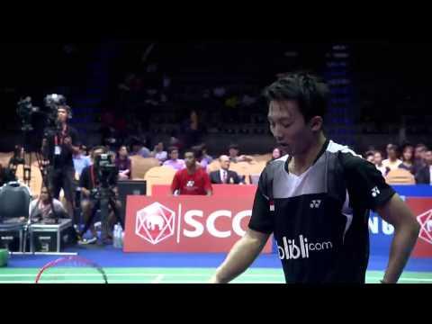 SCG Thailand Open 2015 | Badminton F M5-MS | Ihsan Maulana Mustofa vs Lee Hyun II
