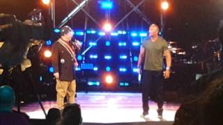 Jeff Ross and Dwayne Johnson roast each other