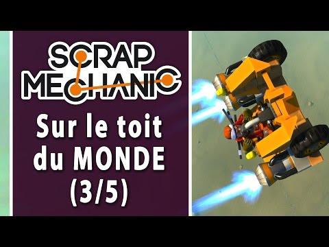SCRAP MECHANIC - Défi 3-3 : Rouler sur le vide ?! | LET'S PLAY FR