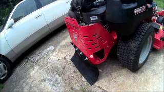 "DIY Striping Kit for Zero Turn Mower for under 15$ ""Gravely Pro Turn 152"" VLOG Lawn Care"