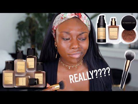 HOW MUCH ON NEW FOUNDATION??!? BANK ACCOUNT SAYS NO OR...IS THIS LAUNCH THE ONE...PAT McGRATH!?!?!