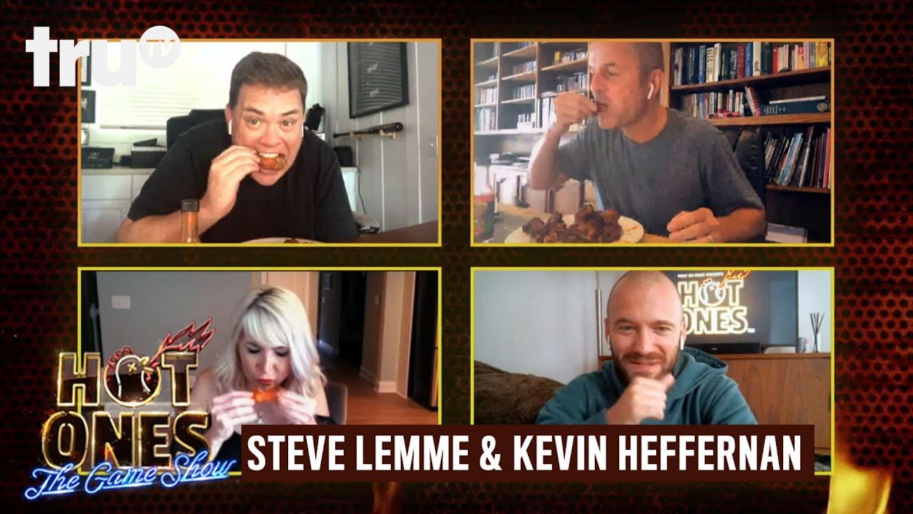 Download Hot Ones: The Game Show at Home - Steve Lemme & Kevin Heffernan Suprise a Superfan | truTV