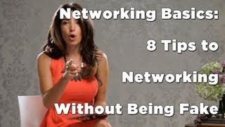Gambar cover Networking Basics: 8 Tips to Networking Without Being Fake