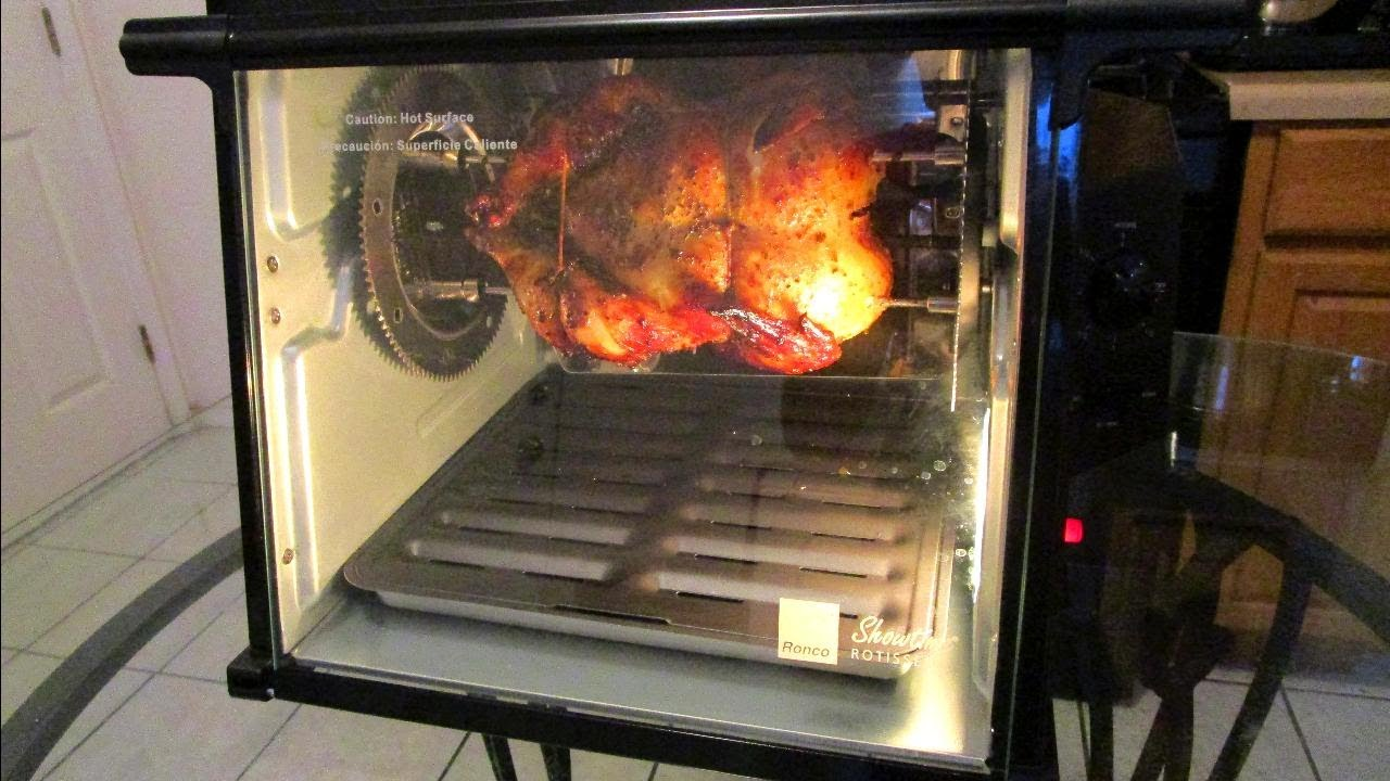 Ronco showtime rotisserie and bbq manual.