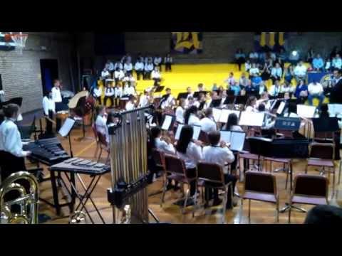 Rollings Middle School of the Arts Encore Band - Part 1 - April, 2015