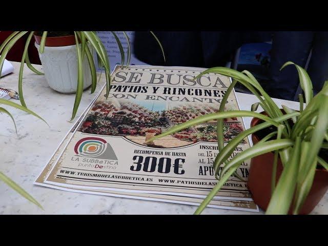 VÍDEO Presentación del Concurso de Patios, Balcones y Rincones típicos de la Subbética