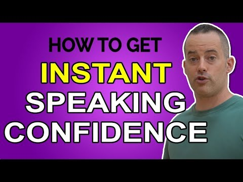 How To END Your Fear Of Public Speaking & Become More Confident Instantly