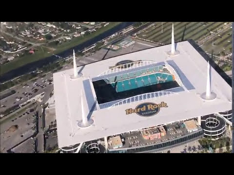 Flying over Miami, Florida from Fort Lauderdale (Cessna 172)