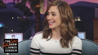 Emmy Rossum Is Justin Bieber