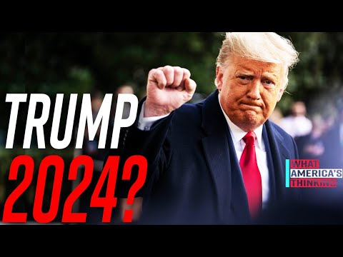 NEW POLL: 47 percent SUPPORT Trump running for PRESIDENT in 2024