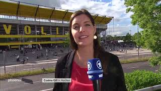 Cosima Gill zur Fridays for Future Kundgebung in Aachen am 210619