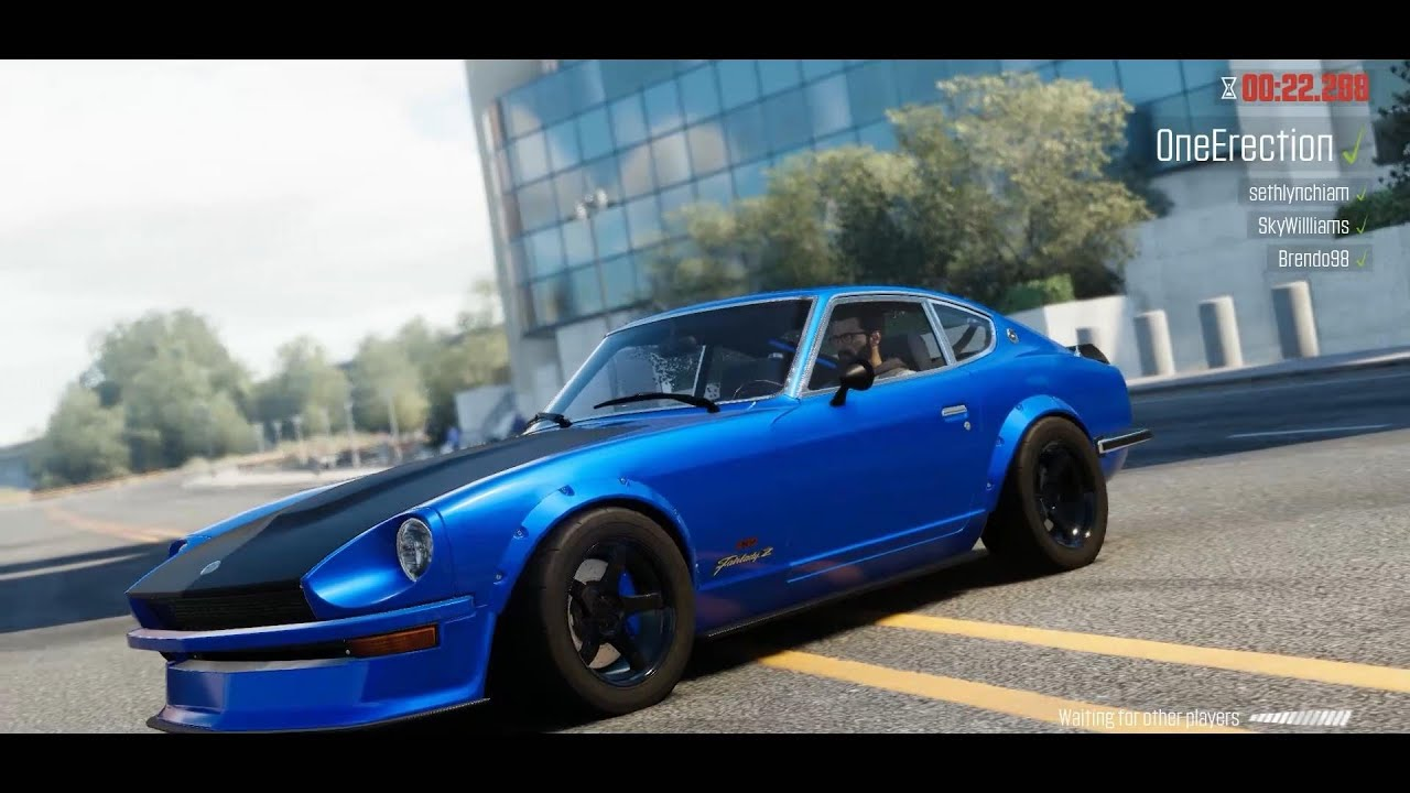 the crew wild run top updated perf cars from february patch corvette c2 nissan fairlady 240z. Black Bedroom Furniture Sets. Home Design Ideas
