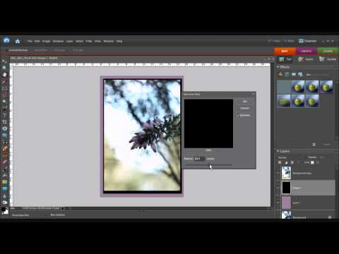How To Make A Drop Shadow In Photoshop Elements