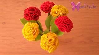 Ingin menghias ruangan dengan bunga-bunga yang cantik dan indah tapi bingung mau membuat bunga seperti apa? tenang saja. ada cara mudah ya...
