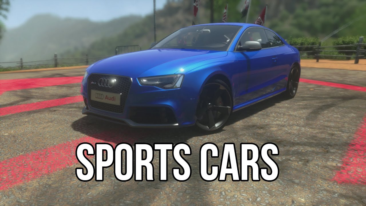 DRIVECLUB GARAGE - ALL SPORTS CARS - YouTube
