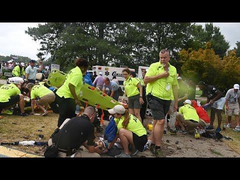 euronews (deutsch): PGA-Tourfinale: Sechs Verletzte nach Blitzeinschlag