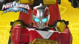 Power Rangers Ninja Steel - Ninja Steel Megazord Transformation and Finisher (Fan Version)