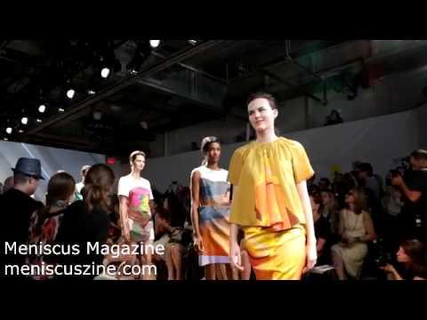 Marimekko Spring 2013 - New York Fashion Week - Meniscus Magazine
